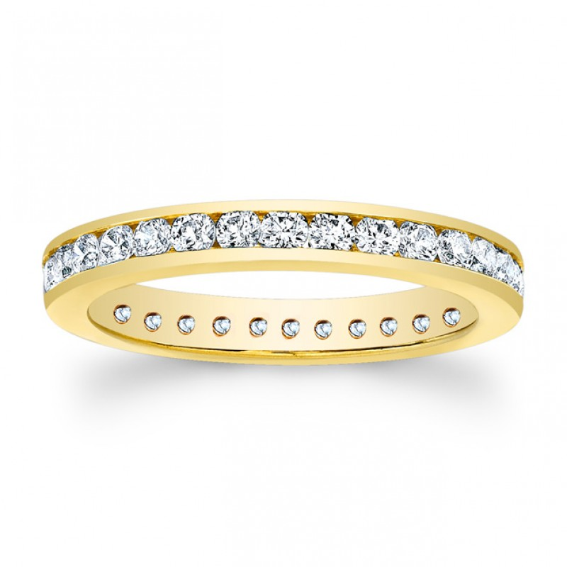 14kt Yellow Eternity Band Justice