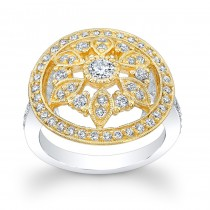 14kt White and Yellow Gold Maribelle