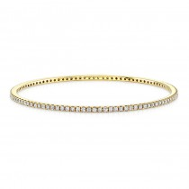 Cleo Bangle in Yellow Gold
