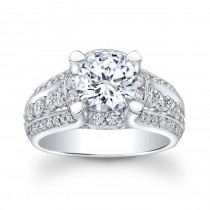 14K White Gold Giana Diamond Engagement Ring