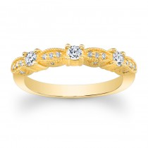14kt Yellow Gold Band Mae