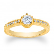 Edwardian Style Louie Yellow Gold