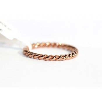 14kt Twist Band Midi Rose Gold