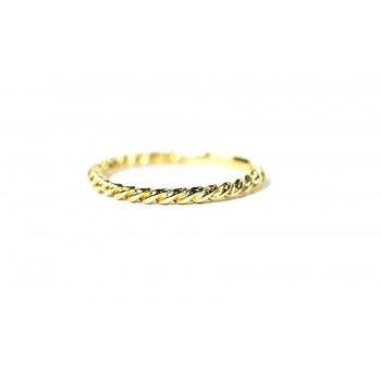14k Gold Twist Band Yellow Gold