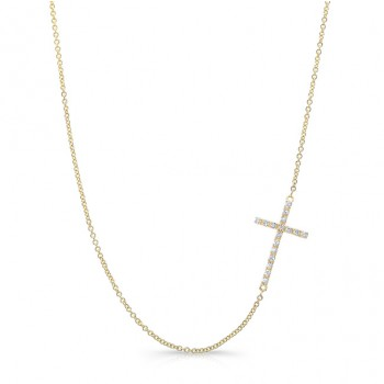 Osanna Cross in Yellow Gold